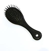 Щётка для волос, массажная, литая, маленькая