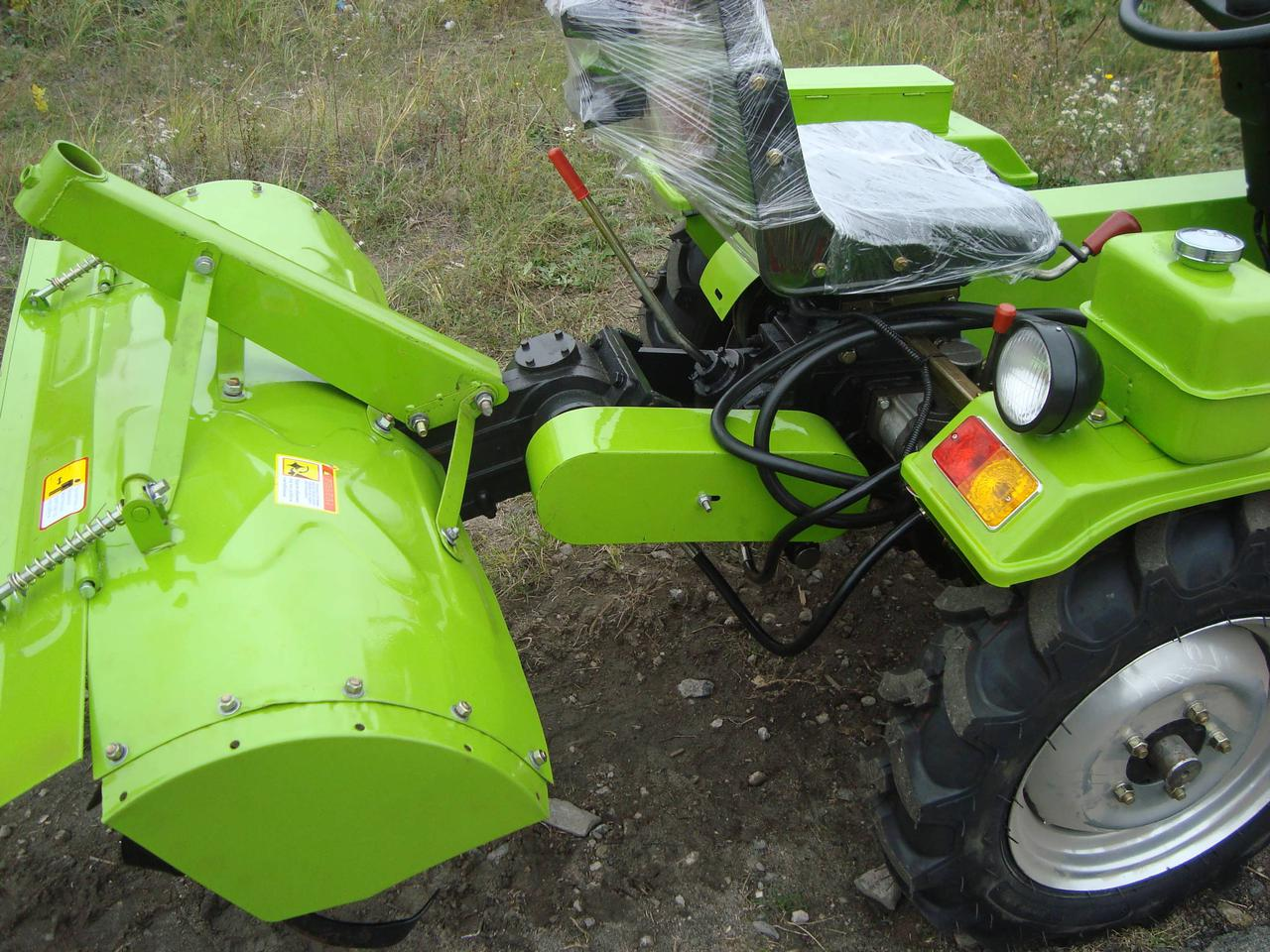 Фреза с редуктором и навесным механизмом к мототрактору DW 150RXi (120 см)