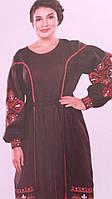Сукня жіноча вишита на льоні в навності розміри, фото 1