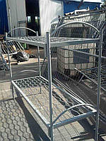Кровать армейская двухъярусная металлическая, Киев