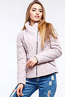 Стильная короткая демисезонная куртка приталенного кроя. Модель с  воротником стойкой, цвета уточняйте, 42 02058b79e25