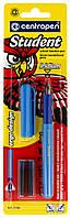Ручка перьевая Centropen Student 2156 ассорти