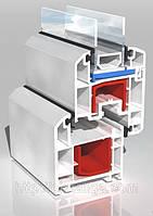 Металлопластиковые окна КВЕ Баланс, монтажная глубина 70 мм., 4 камеры., фото 1