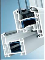 Металлопластиковые окна Schuco Corona CT 70, монтажная глубина 70 мм., 5 камер.