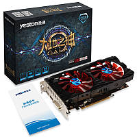 Видеокарта Yeston RX 550 4Gb.<, фото 1
