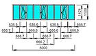 Остекление лоджии. Прямая, длинной 6 метров, с выносом на 200-300 мм., фото 3