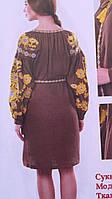 Сукня жіноча вишита на льоні в навності розміри