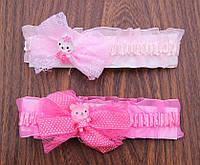 """Нарядная повязка для девочки """"Куколка"""""""