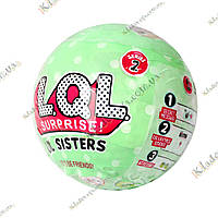 Лялечка - сюрприз L. Q. L. surprise LIL Sisters в кулі (ЛОЛ, LOL), фото 1