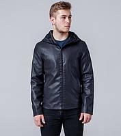 Ajento |  Куртка весенне-осенняя мужская  13341 темно-синяя