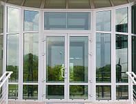 Теплые алюминиевые двери.