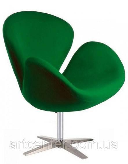 Кресло для ресторана, кресло дизайнерское, кресло для салона красоты (СВ зеленый)