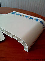 Подоконник WDS глубиной 500 мм. Есть размеры: 100, 150, 200, 250, 300, 350, 400, 450, 600 мм., фото 1