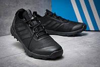 Кросівки чоловічі Adidas Terrex, повністю чорні (текстиль). 41-45р