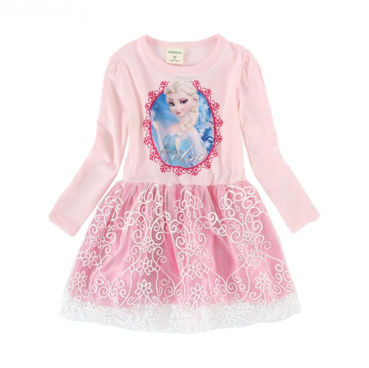 Платье детское с Эльзой