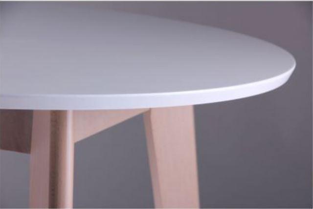 Стол Модерн CO-293.1 шпон D900 Белый/Бук беленый (фото 4)