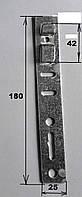 Анкерная пластина на пятикамерный профиль КВЕ, для монтажа металлопластиковых окон.