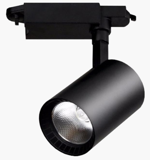 Светодиодный трековый светильник Electro House 15W черный
