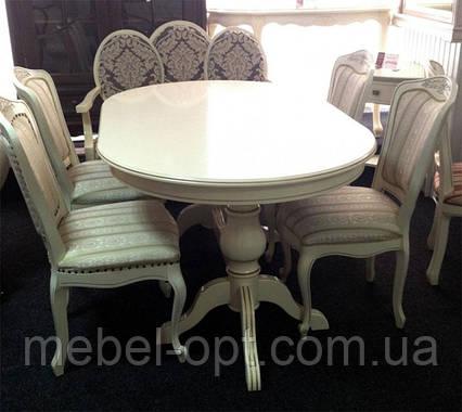 Стол раскладной обеденный Селена 1600/2800*1000*800 производство Румыния, фото 2