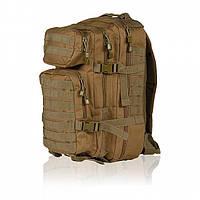 Штурмовой (тактический) рюкзак ASSAULT S Mil-Tec by Sturm Coyote 20 л. 14002005