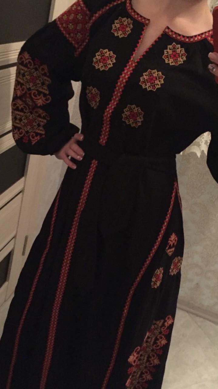Сукня жіноча дизайнерська вишита на льоні в навності розміри - Скарбниця  Карпат- інтернет магазин виробів 970077d573947