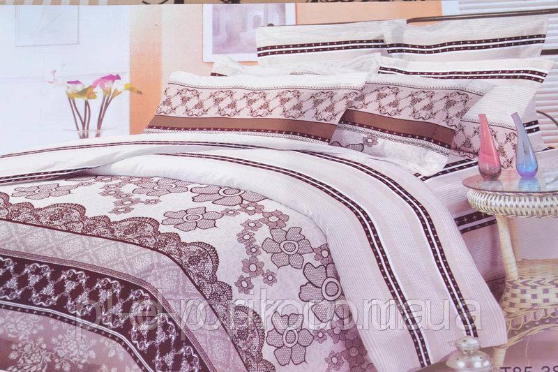 Двуспальный набор постельного белья с красивым рисунком. Цвет ― На фото Размер : ― Пододеяльник ( 175 см х 215