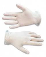 Одноразовые виниловые перчатки без талька, размер XL, 100 шт/уп
