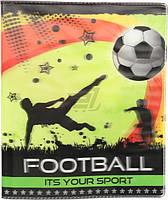 Обложка для тетрадей и дневников Футбол 3D Полимер