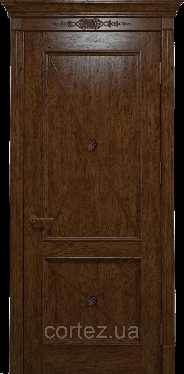 Межкомнатные двери массив дуба RC-011 массив дуба
