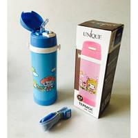 Термос детский UNIQUE UN-1061 с трубочкой поилкой 0.5л