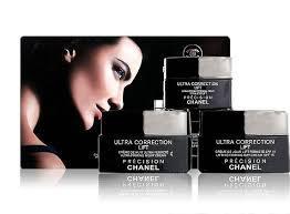 """Набор по уходу за кожей лица Набор антивозрастных кремов для лица 3 in 1 Chanel """"Precision Ultra Correction Li"""