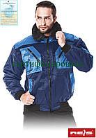 Куртка зимняя с отстегиваемой подстилкой и рукавами Reis Польша (рабочая утепленная одежда) ICEBERG GN