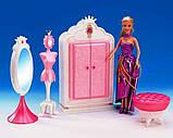 Детская мебель для кукол Gloria 1209 Гардероб Леди, фото 4