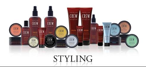 Средства American Crew для стайлинга и укладки волос