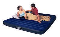 Двуспальный надувной матрас INTEX с двумя подушками