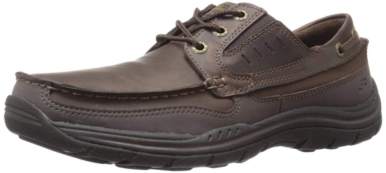 Мужская обувь 46 размер Skechers USA Men's Expected Gembel Relax Fit Oxford