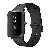 ✓Смарт-часы Amazfit Bip (А1608) Onix black фитнес трекер с Bluetooth GPS для смартфона (англ. версия)