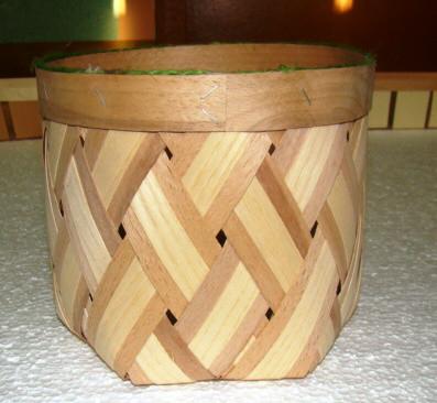 Плетённые формы из дерева (шпона)210*180 мм