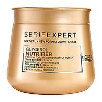 """Маска без силикона для питания сухих волос """"L'Oreal"""" Nutrifier 250 мл."""