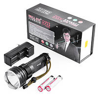Мощный фонарик Small Sun на 2 аккумулятора