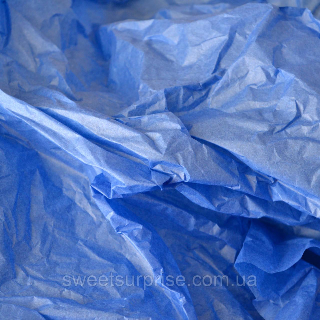 Бумага тишью (синий)