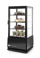 Витрина холодильная настольная HENDI 78 л 233658 (черная)