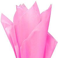 Тишью папиросная бумага розовая