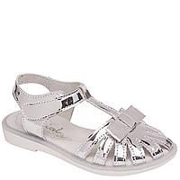 Босоножки Arial (Ариал) 5517-1406 серебро для девочки