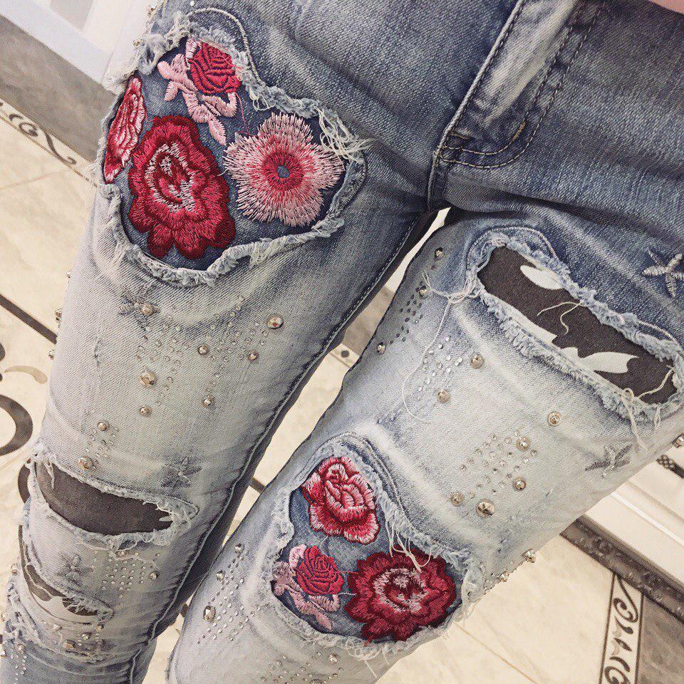 d72d440938d5e Модные джинсы (арт. 129801846) - Aleksa - интернет-магазин женской одежды  оптом