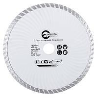 INTERTOOL Диск отрезной Turbo, алмазный 180 мм, CT-2004, фото 1