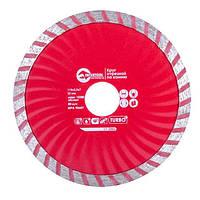 INTERTOOL Диск отрезной Turbo, алмазный 115 мм, 22-24%, CT-2006, фото 1