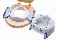 Детская накладка на унитаз + ночник 2 в 1 Potette