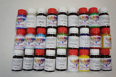 Полупрозрачная  краска для мягкиг кож Micro Pigment. 30 мл., фото 2