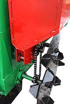 Картоплесаджалка для мотоблока з бункером для добрив до КСН-1М, фото 3